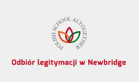 Odbiór legitymacji w Newbridge