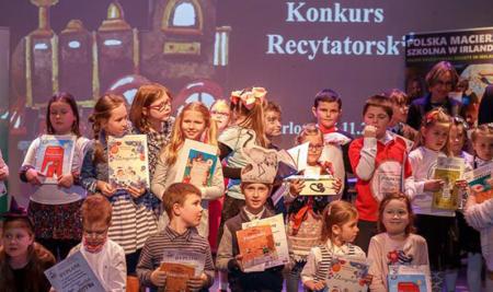 III Międzyszkolny Konkurs Recytatorski Polskiej Macierzy Szkolnej w Irlandii